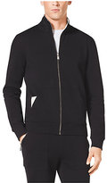 Michael Kors Zip-Front Stretch-Cotton Jacket