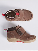 Marks and Spencer Kids' Suede Riptape Walkmates Ankle Boots