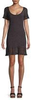 Thumbnail for your product : M Missoni Metallic Ribbed Mini Dress
