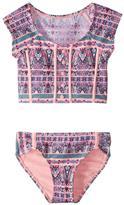 Hula Star Girls' Gypsy Princess Tankini Set (2T6X) - 8154270