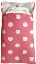 Tiny-Tote-Along Polka Dot Diaper Bag in Pink