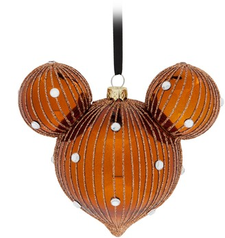 Disney Mickey Mouse Icon Drop Ornament Belle Bronze