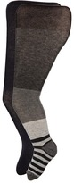 Jefferies Socks Wide Stripe/Solid Tights Pack (Toddler/Little Kid/Big Kid)