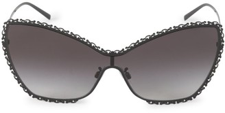Dolce & Gabbana 145MM Barocco Butterfly Sunglasses