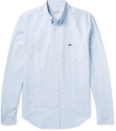 Lacoste Slim-Fit Button-Down Collar Cotton Oxford Shirt