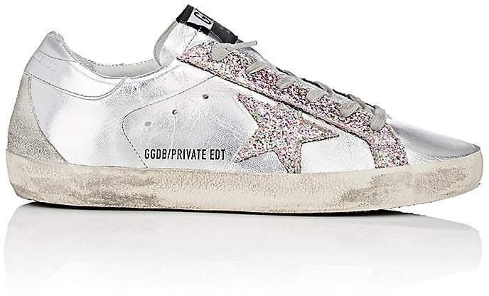 Golden Goose Women's Superstar Metallic Leather Sneakers