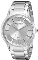 Emporio Armani Men's AR2478 Dress Silver Watch