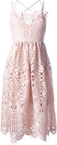 Perseverance London - flared lace dress - women - Polyester - 10