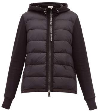 Moncler Hooded Zip-through Jacket - Womens - Black