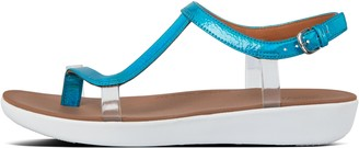 FitFlop Pippa Iridescent Scale Back-Strap Sandals