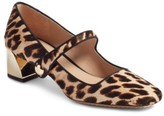 Tory Burch Women's Marisa Genuine Calf Hair Mary Jane Pump