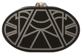Charlotte Olympia Decodent Oval Clutch