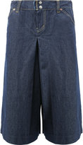 Comme des Garcons wide-legged cropped jeans - men - Cotton - S