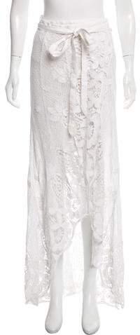 Lace Maxi Wrap Skirt