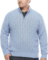 Izod Long-Sleeve Durham Sweater - Big & Tall