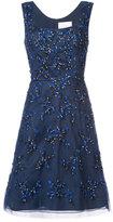Carolina Herrera sequin embroidered tulle dress