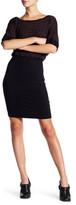 Splendid Speckled Melange Blouson Dress