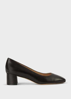Hobbs Layla Leather Court Shoes