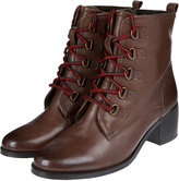 Monsoon Felicia Fleece Lined Lace Up Boots