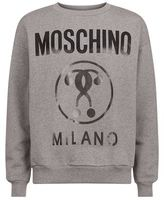 Moschino Contrast Logo Jumper