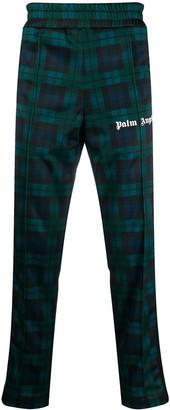 Palm Angels Tartan-Print Track Pants