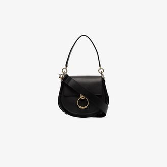 Chloé Black Tess Leather Shoulder Bag