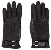 Prada Tessuto Logo-Embellished Gloves