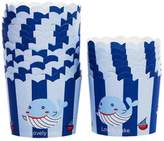 Kylin Express 80 Count Home Cute Baking Cups Cupcakes Cases Cupcakes Cup, Whale Pattern