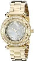Oniss Women's ON8182N-LG/WT-C BELLO COLLECTION Analog Display Swiss Quartz Gold Watch