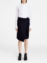 DKNY Pure Wrap Skirt With Pockets