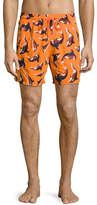 Vilebrequin Limited Edition Mistral Embroidered Whale Swim Trunks