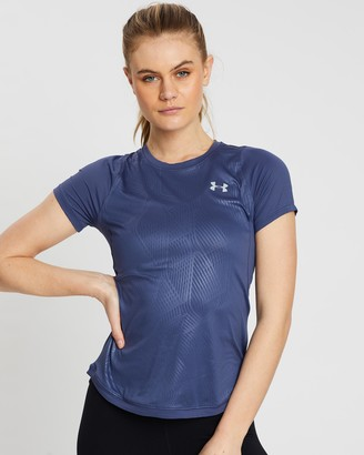 Under Armour UA Qualifier Iso-Chill Embossed Short Sleeve Tee