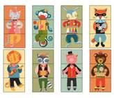 Petit Collage Animal Jamboree Mix & Match Cards