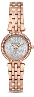 Michael Kors Darci Rose Gold-Tone Watch, 26mm