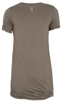 Rick Owens Double-layered Cotton T-shirt