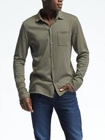 Banana Republic Cotton Wool Silk Shirt