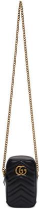 Gucci Black Mini GG Marmont Bag