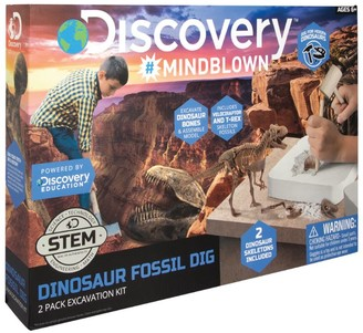 Discovery Channel Dinosaur Fossil Dig Excavation Kit