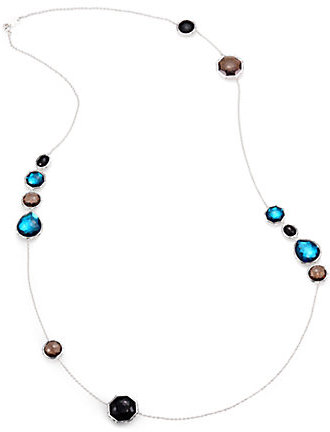 Ippolita Semi-Precious Multi-Stone & Sterling Silver Station Necklace