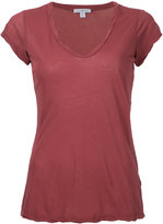 James Perse V-neck T-shirt - women - Cotton - 0