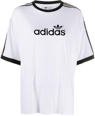 adidas oversized logo T-shirt