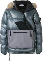 Stone Island contrast padded jacket
