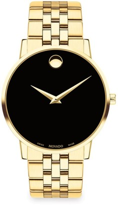 Movado Museum Classic Goldtone Bracelet Watch