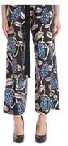 Jucca Women's Multicolor Cotton Pants.