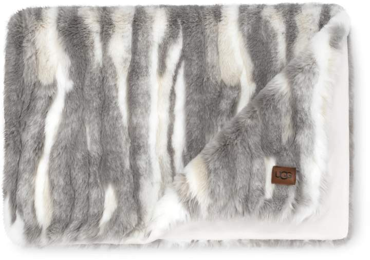34a606c64ee Marina Faux Fur Throw