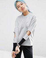 Asos Sweater with Cut Out Detail