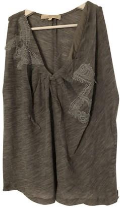 Vanessa Bruno Grey Wool Top for Women