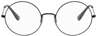 Ray-Ban Black Round Ja-Jo Glasses