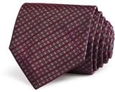 John Varvatos Small Tonal Check Classic Tie