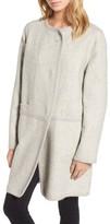 Diane von Furstenberg Women's Wool Blend Coat